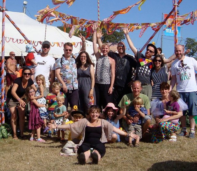The Team @ Bestival