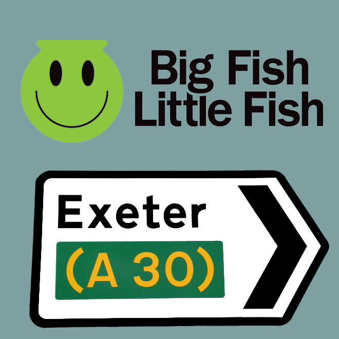 Big Fish Little Fish Quot Rumble In The Jungle Quot Exeter Launch