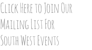 South West Mailing List Signup